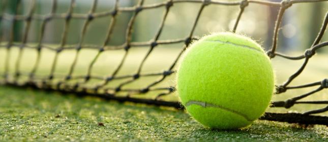Tennisball Roger Federer