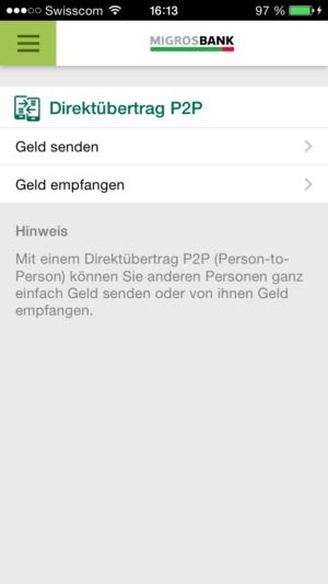 P2P Screenshot