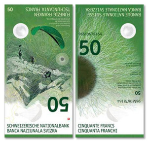 Le nouveau billet de 50 francs