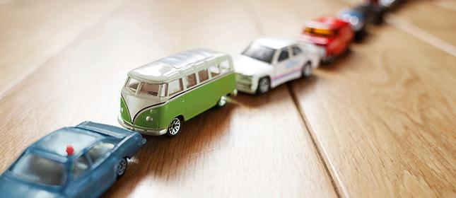 Pendlerabzüge Autos Verkehr