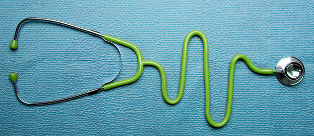 Ärzte Stetoskop