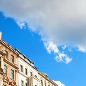 Houses with sky