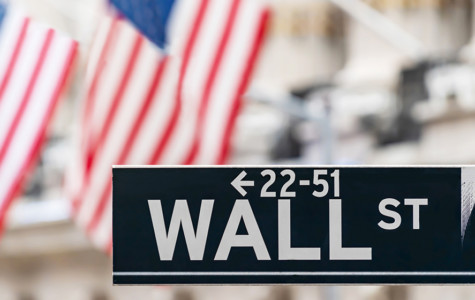 Wall Street Sign in America