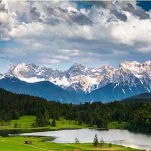 Bayerische Berge